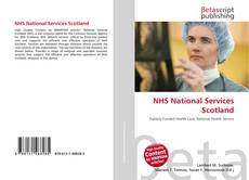 Bookcover of NHS National Services Scotland