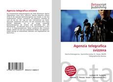 Agenzia telegrafica svizzera kitap kapağı