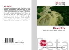 Bookcover of Río del Oro