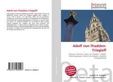Portada del libro de Adolf von Thadden-Trieglaff