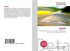 Adolff kitap kapağı