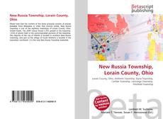 Bookcover of New Russia Township, Lorain County, Ohio