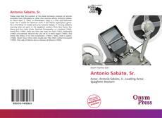 Buchcover von Antonio Sabàto, Sr.