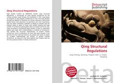 Bookcover of Qing Structural Regulations