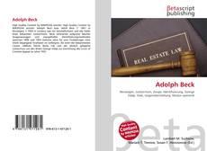 Portada del libro de Adolph Beck
