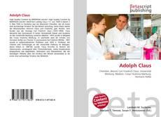Buchcover von Adolph Claus