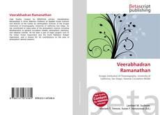 Veerabhadran Ramanathan kitap kapağı