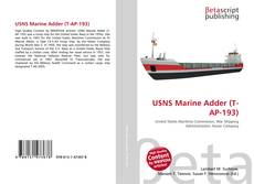 Bookcover of USNS Marine Adder (T-AP-193)