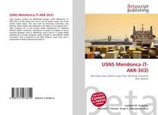 Bookcover of USNS Mendonca (T-AKR-303)