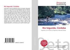 Río Segundo, Córdoba kitap kapağı