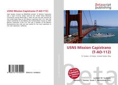 Portada del libro de USNS Mission Capistrano (T-AO-112)