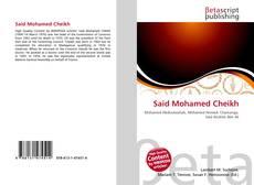 Bookcover of Said Mohamed Cheikh