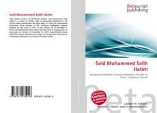 Bookcover of Said Muhammed Salih Hatim
