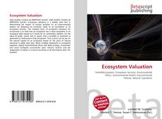Bookcover of Ecosystem Valuation