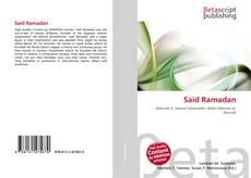 Bookcover of Said Ramadan
