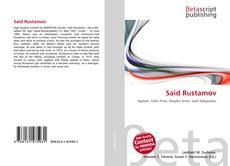 Said Rustamov kitap kapağı