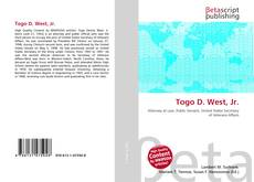 Togo D. West, Jr.的封面