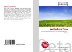 Bookcover of Wallachian Plain