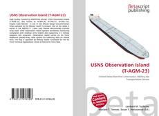 Buchcover von USNS Observation Island (T-AGM-23)