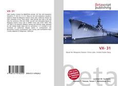 Capa do livro de VX- 31