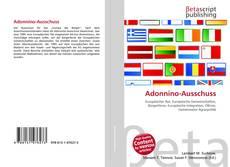 Bookcover of Adonnino-Ausschuss