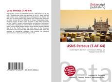 Capa do livro de USNS Perseus (T-AF-64)