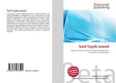 Bookcover of Said Tayeb Jawad