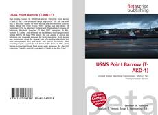 Bookcover of USNS Point Barrow (T-AKD-1)