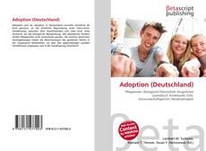 Bookcover of Adoption (Deutschland)