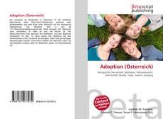 Bookcover of Adoption (Österreich)