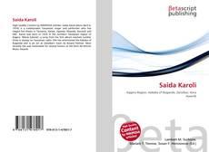 Buchcover von Saida Karoli