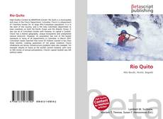 Bookcover of Río Quito