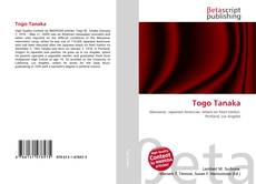 Togo Tanaka kitap kapağı