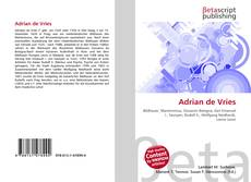 Buchcover von Adrian de Vries