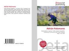 Portada del libro de Adrián Palomares