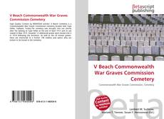 Capa do livro de V Beach Commonwealth War Graves Commission Cemetery