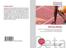 Bookcover of Adriaan Botha