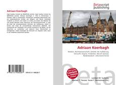 Bookcover of Adriaan Koerbagh