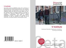 Bookcover of V Institute