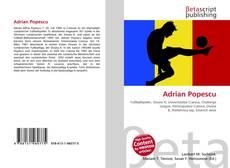 Bookcover of Adrian Popescu