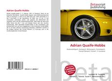 Bookcover of Adrian Quaife-Hobbs