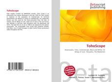 Bookcover of TohoScope