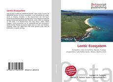 Lentic Ecosystem kitap kapağı