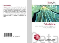 Bookcover of Yehuda Berg
