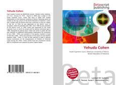 Yehuda Cohen kitap kapağı