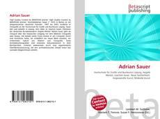Capa do livro de Adrian Sauer