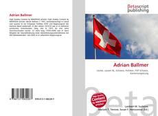 Adrian Ballmer kitap kapağı