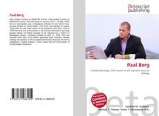Paal Berg kitap kapağı