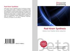 Bookcover of Paal–Knorr Synthesis