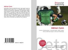 Bookcover of Adrian Cann